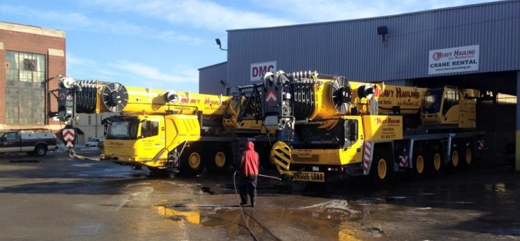 Heavy Equipment Washing